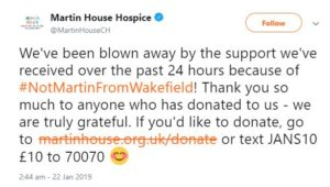 martin house hospice twitter